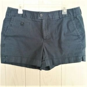 Banana Republic Martin Fit Shorts Navy Blue /A0011